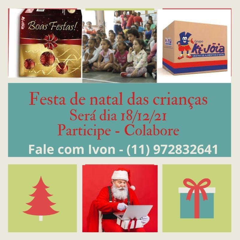 Projeto Padrinho - Festa de Natal 2021